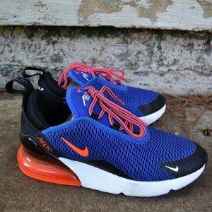 Nike Boys 2.5 Y Air Max 270 Blue